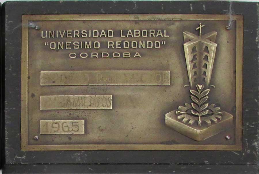 Web de la universidad laboral de c rdoba for Puerta 19 benito villamarin